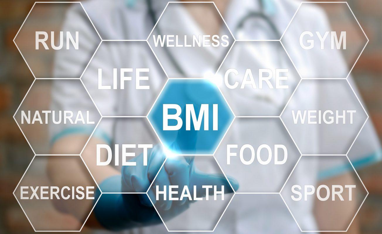 BMI indice de masse corporel obtenu par la Bio-impedence avec la balance connectée Scale